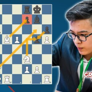 16-Year-Old Chess Prodigy Smashes Mamedyarov In 21 Moves!