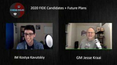2020 FIDE Candidates + ChessDojo Intro! | w/ GM Jesse Kraai