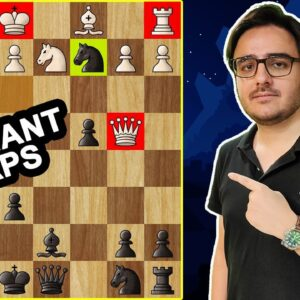 8 Stunning Chess Opening Tricks & Traps | Amazing Moves, Tactics & Ideas