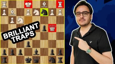 8 Stunning Chess Opening Tricks & Traps   Amazing Moves, Tactics & Ideas