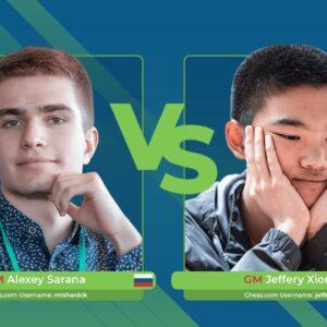 Alexey Sarana vs Jeffery Xiong | Junior Speed Chess Championship