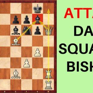 Attacking the Dark Squared Bishop | Fianchetto Structure