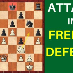 Attacking the King in the French Defense