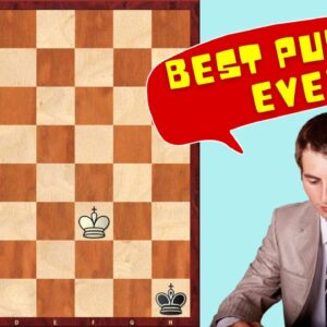Best Chess Puzzle Ever? | Solve This If YOU Can!