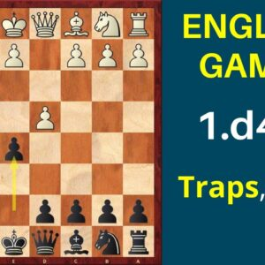 Chess Opening: Englund Gambit 1.d4 e5 | Traps and Ideas