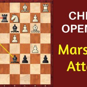 Chess Opening: Marshall Attack (Gambit) - Ruy Lopez