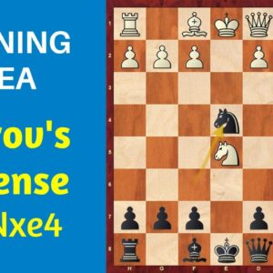 Chess Opening: Petrov's Defense 3...Nxe4 | Ideas and Traps