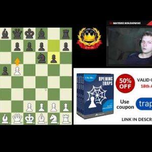 Chess Opening Traps by IM Mat Kolosowski