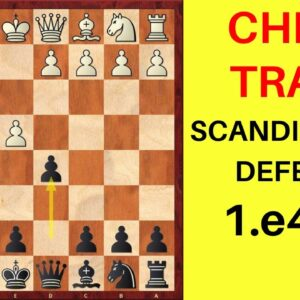 Chess Opening Traps in the Scandinavian Defense | 1.e4 d5