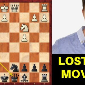 Chess Opening Trick: Master LOST IN 8 MOVES!!