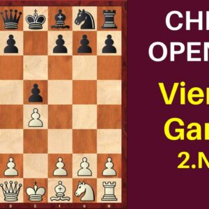 Chess Opening: Vienna Game 2.Nc3 | Ideas and Traps