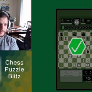 Chess Puzzle Blitz (Mobile App) - competitive puzzle solving!