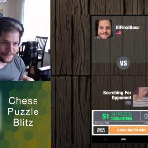 Chess Puzzle Blitz (Mobile App) - Redesign Game Walkthrough