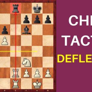 Chess Tactics - Deflection
