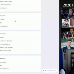 Chess24 FantasyChess Contest + Round 1 Picks! | 2020 FIDE Candidates