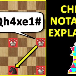 Learn Chess Notation - The Language of Chess! How to Read & Write Chess Moves! Basics for Beginners