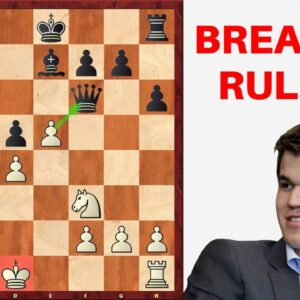 Carlsen vs So: The World Champion breaks the rules and… creates a masterpiece!