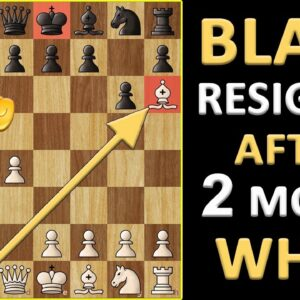 Shortest Chess Game Ever? White Wins in 2 Moves, but How | Chess Anecdotes & Lessons for Players