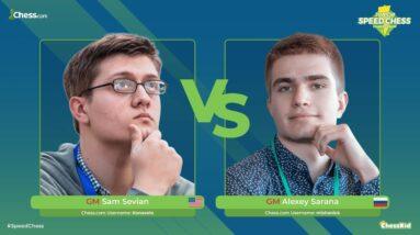 GM Sevian vs GM Sarana   Junior Speed Chess Championship