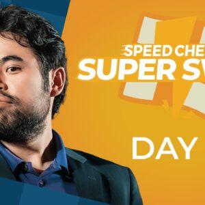 Hikaru Nakamura Dominates the Speed Chess Super Swiss!