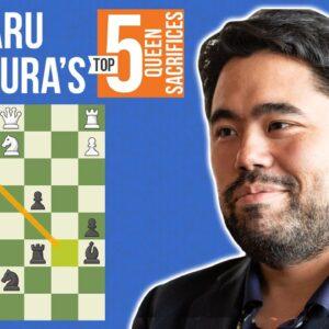 Hikaru Nakamura's Top 5 Queen Sacrifices!