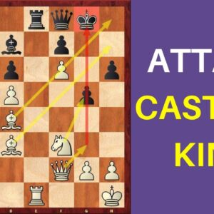 How to Attack the Castled King? | Important Attacking Principles