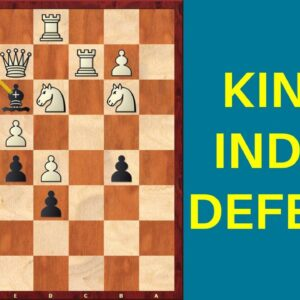 How to Attack with the King's Indian Defense - Taimanov vs Najdorf