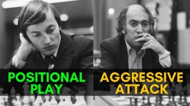 Karpov vs Tal: a Rare Clash of World Champions!