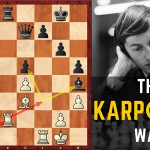 Karpov's Battle Against the Opponent's Activity | Improve Your Pieces