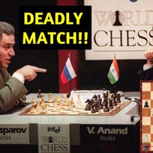 Kasparov's Killer Novelty vs Anand - Deadly Opening Preparation!