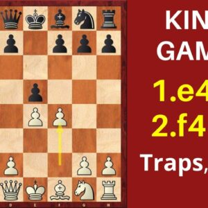 King's Gambit: Powerful Chess Opening Weapon for White!