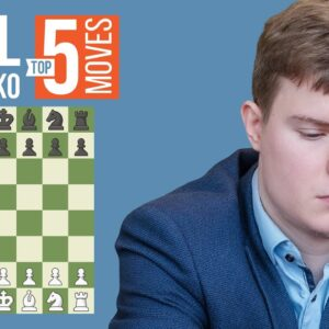 Kirill Alekseenko's Top 5 Chess Moves of All Time!
