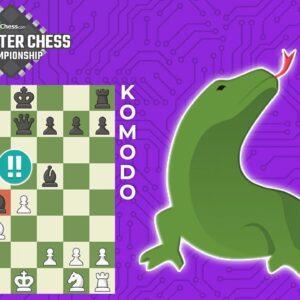 Komodo CRUSHES With...Schara-Hennig Gambit?!