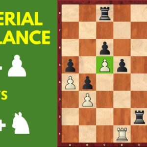 Material Imbalance – Rook and Pawn vs Bishop and Knight