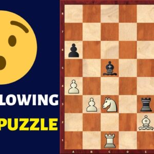 Mind-blowing Chess Puzzle - The Luzhin Defense