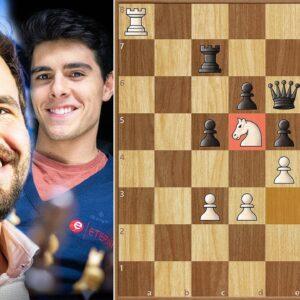 Monster and His Knight || Carlsen vs Tari || Altibox Norway Chess (2020)