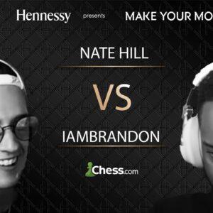 @Nate Hill vs @iamBrandon | Hennessy's Make Your Move