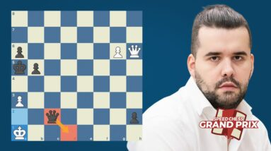 Nepo Shows Why He's A Top 4 Player in the World   Speed Chess Grand Prix