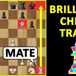 Chess Opening Tricks to WIN FAST: Center Game Queen Traps, Gambit, Moves, Tactics, Strategy & Ideas