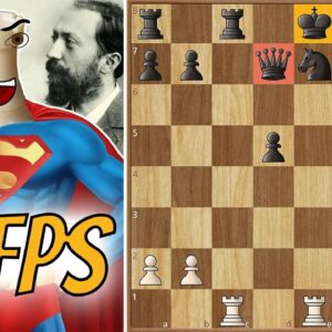 Bravest Rook in Chess History - Steinitz's Immortal (Battle of Hastings) || Remake 60fps