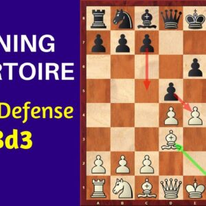 Opening Repertoire: French Defense 3.Bd3 | Surprise Weapon for White