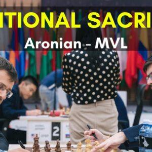 Positional Sacrifice in Chess | MVL vs Aronian