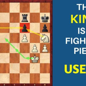 Power of King in the Endgame | Chess Strategy