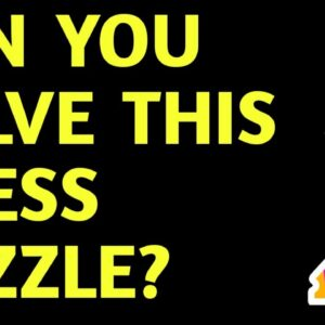 Chess Endgame Puzzle with Solution: Find Best Moves for White - Chess Talk Tricks & Ideas