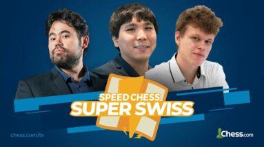 Nakamura/So/Artemiev + More GMs Battle in Speed Chess Championship Super Swiss