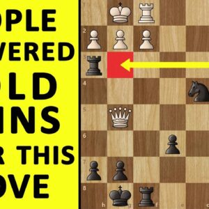 The Gold Coins Game! Marshall's Legendary Queen Sacrifice! Best Chess Moves, Tactics & Ideas to Win