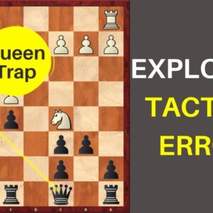 Shocking Tactical Blunders by Grandmasters | How to Exploit them?