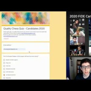 Taking the 2020 Candidates Quality Chess Quiz | 2020 FIDE Candidates