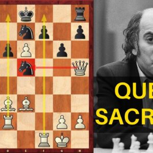 The GREATEST Queen Sacrifice by Tal + Invitation for You