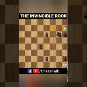 The Invincible Rook | #MyFirstShorts #Shorts #ChessTalk